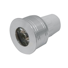 LAMPADA DE LED MINI DICROICA MR11 BRANCO FRIO 6500K