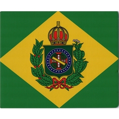 Mouse Pad Bandeira Imperial