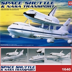 Space Shuttle and NASA Transport B 747 Carrier - Academy - 1/288 - SPACE SHUTTLE and NASA TRANSPORT B 747 CARRIER - Academy - 1/288