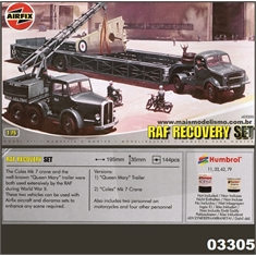 RAF RECOVERY SET - Airfix - 1/76