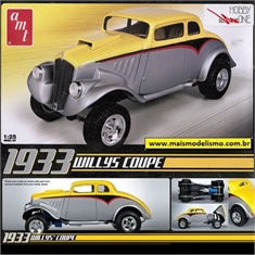 1933 - WILLYS Coupe - AMT - 1/25 - 1933 - WILLYS COUPE - AMT - 1/25