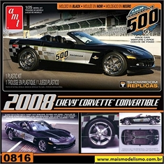 2008 - Chevy Corvette (Indy 500) Pace Car - AMT - 1/25 - 2008 - CHEVY CORVETTE PACE CAR - AMT - 1/25