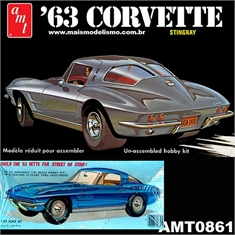 1963 - CORVETTE Sting Ray - AMT - 1/25