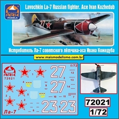 Lavochkin La-7 Russian Fighter - Ark Models - 1/72