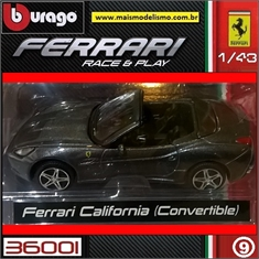 FERRARI California (Convertible) - Bburago - 1/43