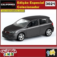 CJ64 - VOLKSWAGEN GOLF GTI Preto - California Junior - 1/64 - VOLKSWAGEN GOLF GTI Preto - California Junior - 1/64