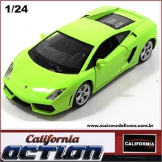 Lamborghini GALLARDO LP 560-4 Verde - California Action - 1/24 - Lamborghini Gallardo LP 560-4 Verde - California Action - 1/24
