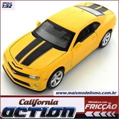 Chevrolet CAMARO SS Amarelo - California Action - 1/32
