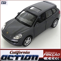Porsche CAYENNE S Cinza - California Action - 1/32 - Porsche CAYENNE S - California Action - 1/32