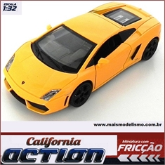 Lamborghini GALLARDO LP 560-4 Laranja - California Action - 1/32 - Lamborghini GALLARDO LP560-4 - California Action - 1/32