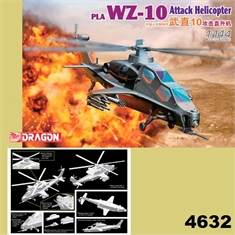 WZ-10 ATTACK HELICOPTER - Dragon - 1/144 - WZ-10 ATTACK HELICOPTER - Dragon - 1/144