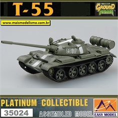 EMT - T-55 USSR - Prague 1968 - Easy Model - 1/72 - T-55 USSR - Prague 1968 - Easy Model - 1/72