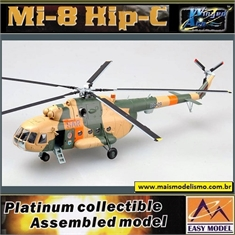EM - Helicóptero Mi- 8 Hip-C Germany Army Rescue Group - Easy Model - 1/72 - Helicóptero Mi- 8 Hip-C Germany Army Rescue Group - Easy Model - 1/72