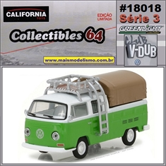 C64 - 1971 VW Kombi Pickup Cab Dupla - California - 1/64