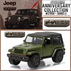 2016 - Jeep Wrangler Verde 75th Anniversary Edition - Greenlight - 1/64 - 2016 - Jeep Wrangler 75th Anniversary Edition - Greenlight - 1/64