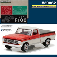 1967 - Ford F100 Pickup - Greenlight - 1/64