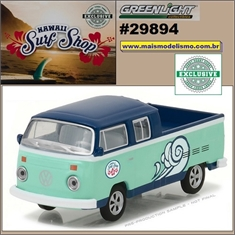 1976 - VW Kombi Pickup Cab Dupla - Greenlight - 1/64
