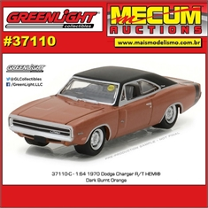 1970 - Dodge Charger R/T Hemi - Greenlight Mecum Auctions - 1/64 - 1970 Dodge Charger R/T Hemi - Greenlight Mecum Auctions - 1/64