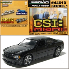 GL HOLLYWOOD  1 - NATALIAS Dodge Charger - Greenlight - 1/64 - NATALIAS DODGE CHARGER - Greenlight - 1/64