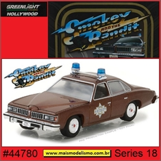 GL HOLLYWOOD 18 - 1977 Pontiac LeMans - Greenlight - 1/64 - Smokey and the Bandit - 1977 Pontiac LeMans - Greenlight - 1/64