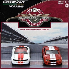 GL INDIANAPOLIS 500 Pace Cars Diorama - Greenlight - 1/64 - GL INDIANAPOLIS 500 Pace Cars - Greenlight - 1/64