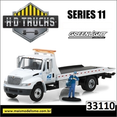 USPS International DuraStar Flatbed - Greenlight - 1/64