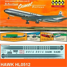 De Havilland COMET Airliner - Hawk - 1/144 - De Havilland COMET Airliner - Hawk - 1/144
