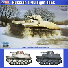 Russian T-40 Light Tank - Hobby Boss - 1/35 - Russian T-40 Light Tank - Hobby Boss - 1/35