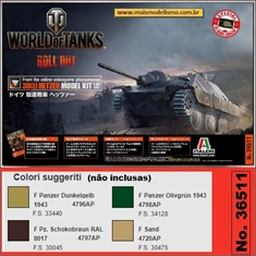 World of Tanks - Hetzer 38(t) - Italeri - 1/35 - World of Tanks - Hetzer 38(t) - Italeri - 1/35