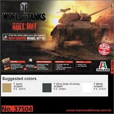 World of Tanks - M24 CHAFFEE - Italeri - 1/35 - World of Tanks - M24 CHAFFEE - Italeri - 1/35