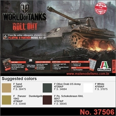 World of Tanks - PZ.KPFW. V Panther - Italeri - 1/35 - World of Tanks - PZ.KPFW. V Panther - Italeri - 1/35