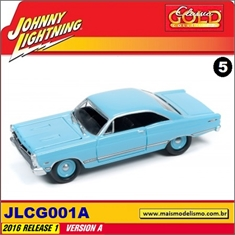 1967 - Ford Fairlane 500 XL Azul - Johnny Lightning - 1/64 - 1967 - Ford Fairlane 500 XL - Johnny Lightning - 1/64