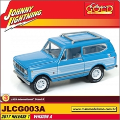 1979 - International Scout III Azul - Johnny Lightning - 1/64