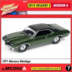 1971 - Mercury Montego Verde - Johnny Lightning - 1/64