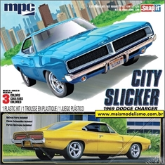 1969 - Dodge Charger City Slicker - MPC - 1/25