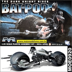 BATMAN BAT-POD - The Dark Knight Rises - Moebius - 1/25