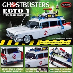 Ghostbusters ECTO-1 - Polar Lights - 1/25