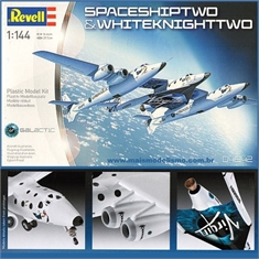 Spaceshiptwo and Whiteknighttwo - Revell - 1/144 - SPACESHIPTWO AND WHITEKNIGHTTWO - Revell - 1/144