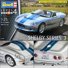 Shelby Series 1 - Revell - 1/25