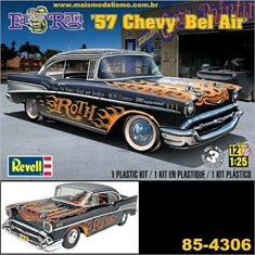ED ROTH - 1957 Chevy BEL AIR - Revell - 1/25 - ED ROTH - 1957 CHEVY BEL AIR - Revell - 1/25