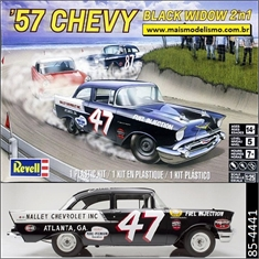 1957 - Chevy Black Widow - Revell - 1/25