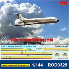 Vickers Super VC10 Type 1154 - Roden - 1/144 - Vickers Super VC10 Type 1154 - Roden - 1/144