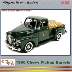 1950 - Chevy Pickup Barrels Verde - Signature - 1/32