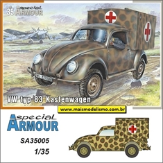 VW typ 83 Kastenwagen Ambuylance - Special Armour - 1/35 - VW typ 83 Kastenwagen - Special Armour - 1/35