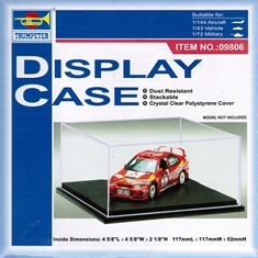 CAIXA DISPLAY COM BASE - Trumpeter - 1/144 - CAIXA DISPLAY COM BASE - Trumpeter - 1/144