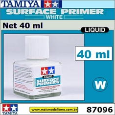 Primer Liquid SURFACE PRIMER W (White) - Tamiya 87096 - 40ml
