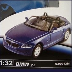 Kit Metal TESTORS - BMW Z-4 - 1/32