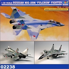 MiG-29M Fulcrum - Russian Fighter - Trumpeter - 1/32