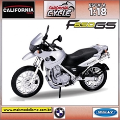 BMW F 650 GS - Welly California Cycle - 1/18