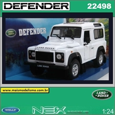 Land Rover DEFENDER - Welly - 1/24 - LAND ROVER DEFENDER - Welly - 1/24